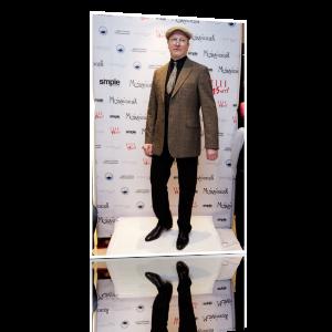 "Виктор Николаевич Бычков на показе обуви ""Mania Grandiosa"""