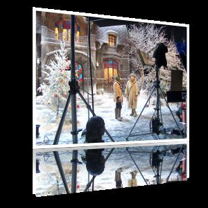 Зима. Павильон Ленфильма. 2007 год.